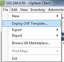 OVF template